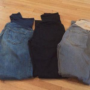 Denim - Maternity Jeans Bundle. 3 Pairs!